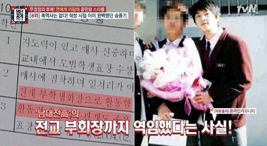 """Lộ bảng điểm không tưởng của """"soái ca"""" Song Joong Ji - 2"""