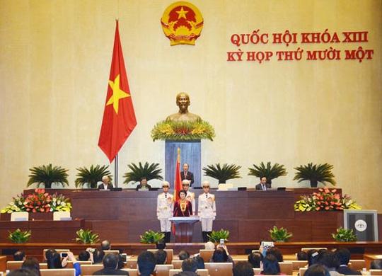 Tổng thư ký QH nói về việc đại biểu chụp hình lúc tuyên thệ - 3