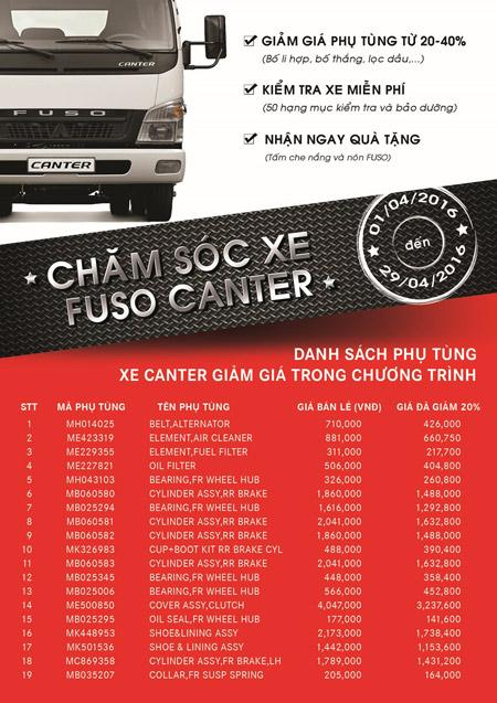 """FUSO Việt Nam phát động chương trình """"chăm sóc xe Canter"""" - 5"""