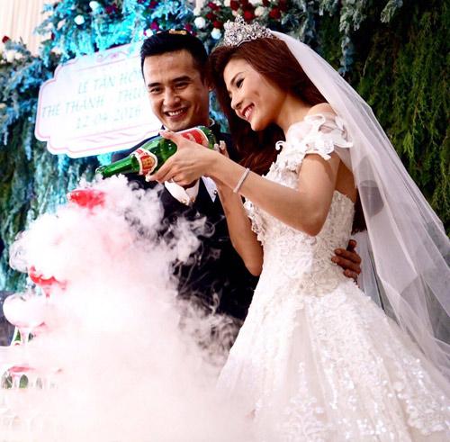 Thúy Diễm xinh như công chúa trong ngày làm cô dâu - 9