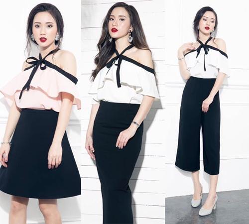 Thiếu nữ Việt mặc áo trễ vai thế nào? - 4