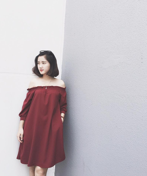 Thiếu nữ Việt mặc áo trễ vai thế nào? - 10