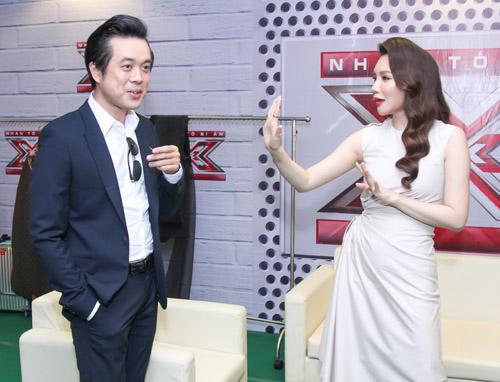 Hồ Quỳnh Hương hoá quý cô gợi cảm tại X-Factor - 3
