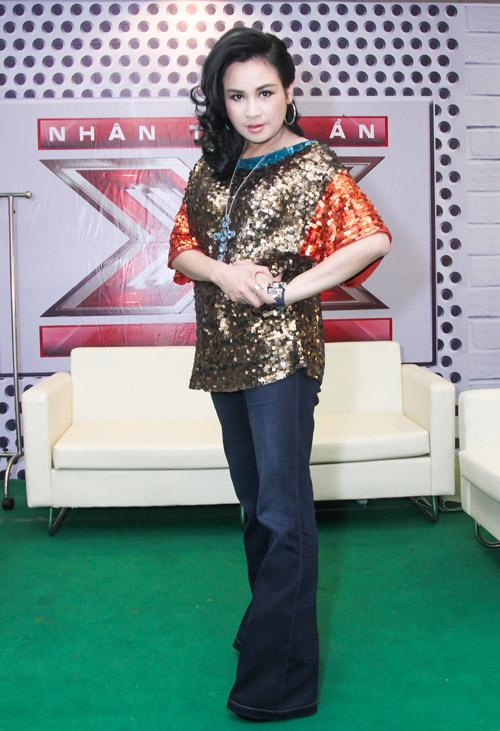 Hồ Quỳnh Hương hoá quý cô gợi cảm tại X-Factor - 7