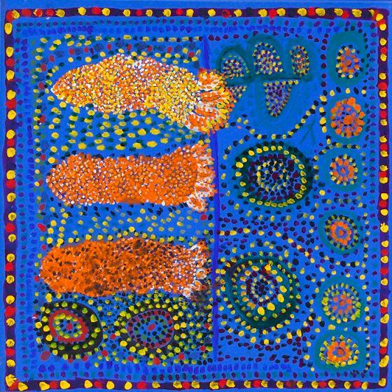 Úc: Bà cụ 105 tuổi vẽ tranh nổi tiếng thế giới - 4