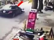 """Video An ninh - Clip: Ngáo đá cưỡi """"xe điên"""", gọi hội vây đánh CSGT"""