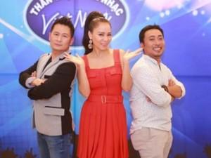 """Lộ diên """"bộ ba quyền lực"""" Vietnam Idol ngày đầu tiên"""