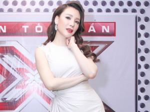 Hồ Quỳnh Hương hoá quý cô gợi cảm tại X-Factor