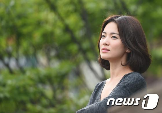 Song Hye Kyo từ chối 1 triệu USD vì yêu tổ quốc - 1