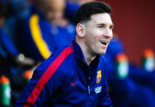 Messi khích lệ sĩ khí trước cuộc tái đấu Atletico - 1