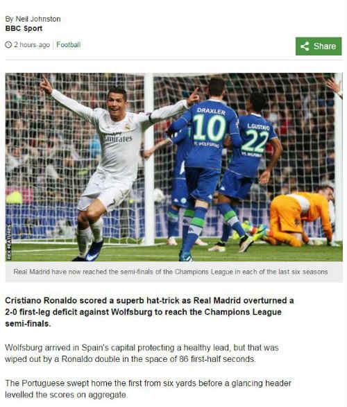 Báo thân Barca tố Real dùng tiểu xảo thắng Wolfsburg - 4