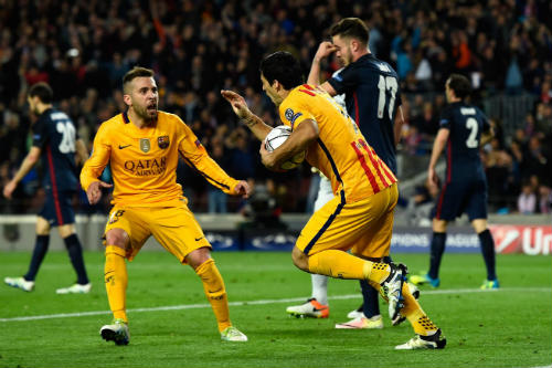 Atletico Madrid vs Barca - 1