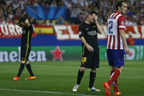 Barca vs Atletico Madrid - 2