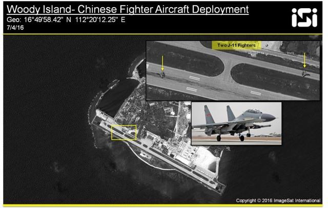 TQ đưa 2 máy bay chiến đấu J-11 tới Hoàng Sa - 1