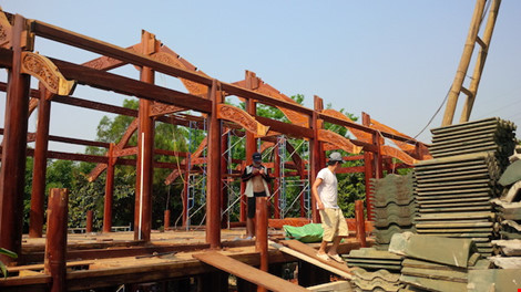 Đà Nẵng: Biệt phủ 100 tỉ sắp tháo dỡ xong - 4