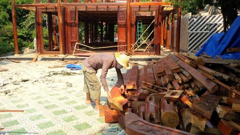 Đà Nẵng: Biệt phủ 100 tỉ sắp tháo dỡ xong - 5