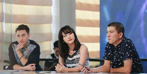 Văn Mai Hương trẻ trung bên Isaac chấm thi Vietnam Idol Kids - 3
