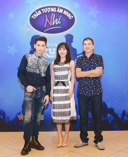 Văn Mai Hương trẻ trung bên Isaac chấm thi Vietnam Idol Kids - 1