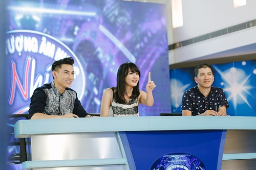 Văn Mai Hương trẻ trung bên Isaac chấm thi Vietnam Idol Kids - 8