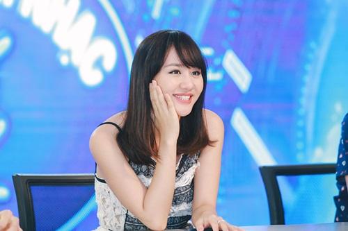 Văn Mai Hương trẻ trung bên Isaac chấm thi Vietnam Idol Kids - 7