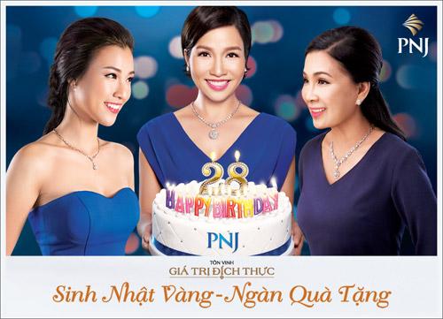 """""""Sinh nhật vàng – Ngàn quà tặng"""" từ trang sức PNJ - 1"""