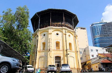 Thủy đài khổng lồ hơn 1 thế kỷ ở Sài Gòn - 1