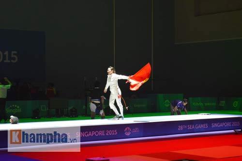"""Nữ kiếm thủ Việt lỡ Olympic, lập """"HCV cuộc đời"""" - 1"""