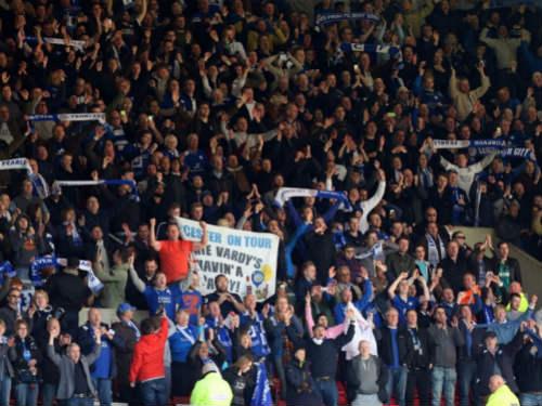 Chuyện lạ: Leicester ghi bàn tạo ra động đất - 1