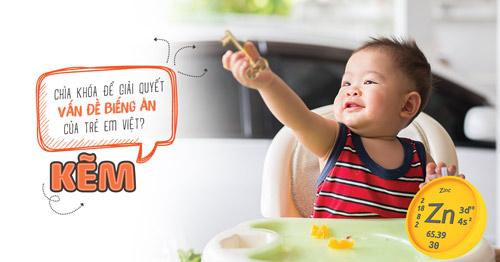 Kẽm – chìa khóa để giải quyết vấn đề biếng ăn của trẻ em Việt? - 1