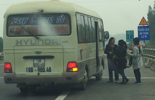 61 xe khách bị từ chối phục vụ trên cao tốc HN–Lào Cai - 1