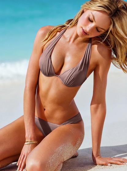 """""""Thiên thần nội y sexy nhất"""" mặc bikini khoe bụng bầu - 5"""