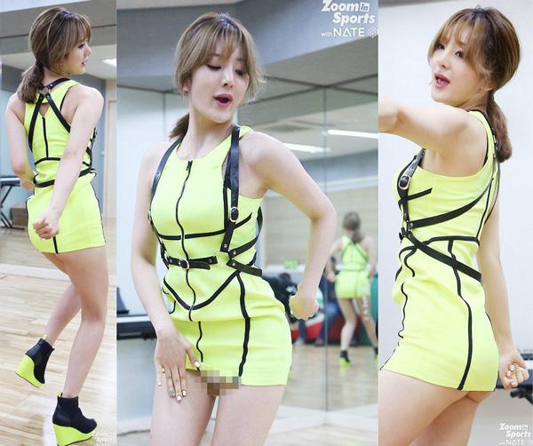 """Dàn mỹ nhân Hàn dính phốt """"mặc quần như không"""" - 7"""