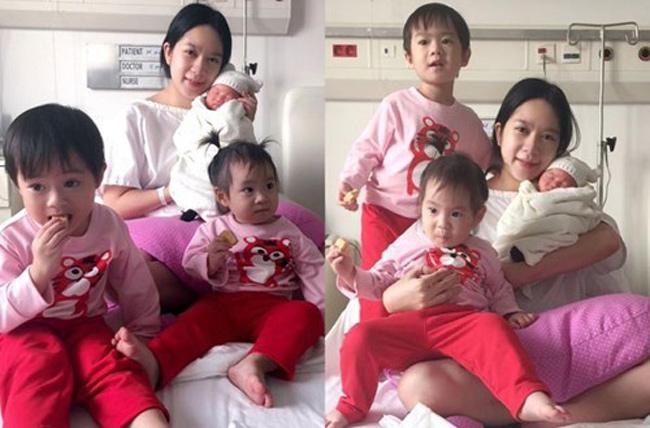Mới đây, thông tin hot girl Minh Hà - vợ của ca sĩ Lý Hải mang bầu khiến nhiều người xôn xao. Đây là lần mang bầu thứ 4 của Minh Hà và đưa gia đình Lý Hải - Minh Hà trở thành gia đình đông con nhất showbiz.