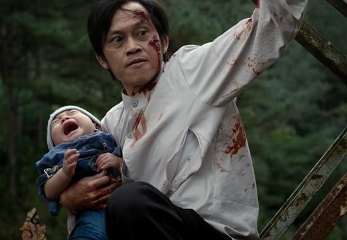Tạo hình đáng sợ của Hoài Linh trong phim kinh dị mới - 2