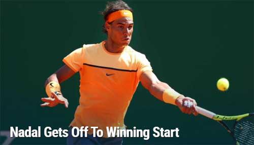Nadal  - Aljaz Bedene: Khởi đầu như mơ (Vòng 2 Monte Carlo) - 1