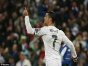 """Bóng đá - """"Siêu"""" Ronaldo lập hat-trick, Real lập kì tích lịch sử"""