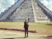 Bạn trẻ - Cuộc sống - Cô gái đi du lịch 7 quốc gia trong 13 ngày khi bị ung thư