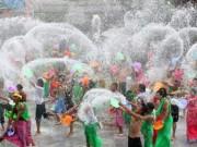 Video An ninh - Tưng bừng lễ hội té nước độc nhất Đông Nam Á