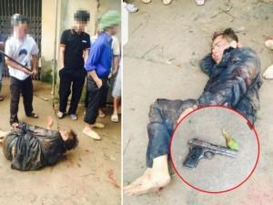 An ninh Xã hội - Vụ trộm chó rút súng bắn người: Tạm giữ hai thanh niên