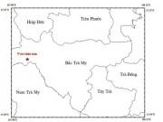Động đất kèm tiếng nổ lớn gần thủy điện sông Tranh 2