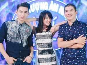 Văn Mai Hương trẻ trung bên Isaac chấm thi Vietnam Idol Kids