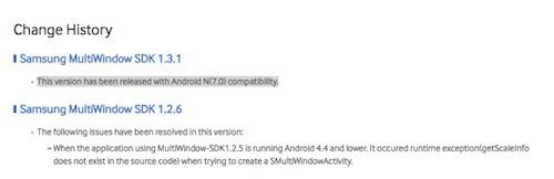 Samsung làm lộ tên gọi của phiên bản Android mới - 1