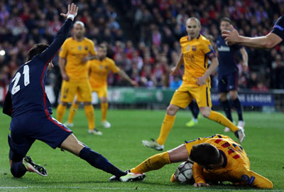 Chi tiết Atletico - Barca: Đòn kết liễu (KT) - 5