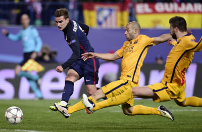 Chi tiết Atletico - Barca: Đòn kết liễu (KT) - 9