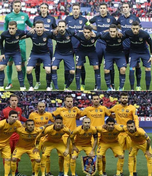 """Chùm ảnh: Barca """"sa lầy"""" ở Vicente Calderón - 2"""