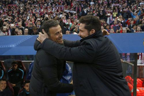 """Chùm ảnh: Barca """"sa lầy"""" ở Vicente Calderón - 1"""
