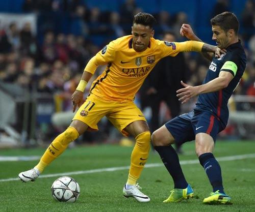 """Chùm ảnh: Barca """"sa lầy"""" ở Vicente Calderón - 4"""