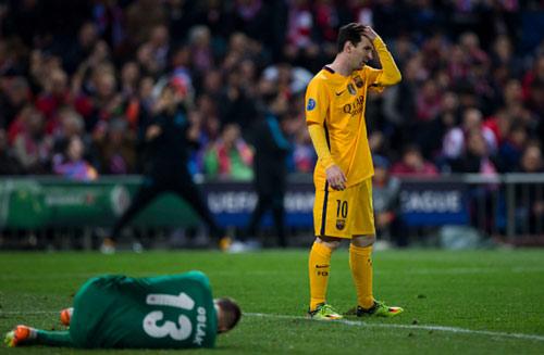"""Góc chiến thuật Atletico - Barca: """"MSN"""" bị khóa chặt - 1"""