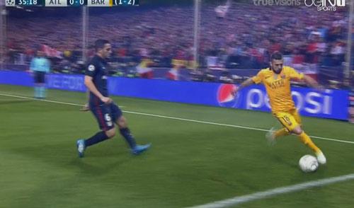 """Góc chiến thuật Atletico - Barca: """"MSN"""" bị khóa chặt - 4"""