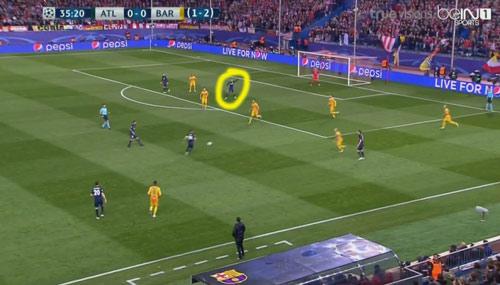 """Góc chiến thuật Atletico - Barca: """"MSN"""" bị khóa chặt - 5"""